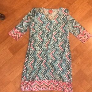 Gorgeous patterned dress or coverup